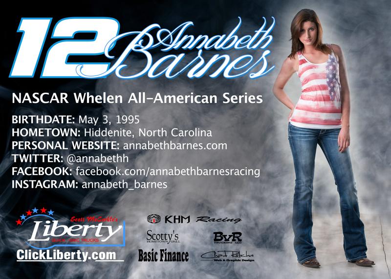 2014 Annabeth Barnes Hero Card - back